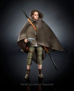 Black Series 6 Rey w/ Cloak